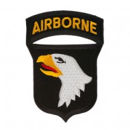 Mixed Airborne Patches - 101st Airborne