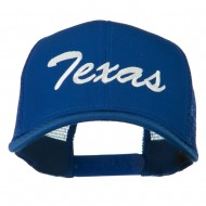 Mid States Texas Embroidered Mesh Back Cap - Royal