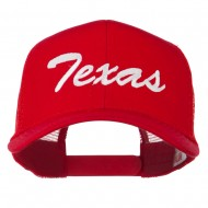 Mid States Texas Embroidered Mesh Back Cap - Red