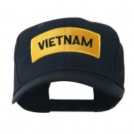Military Badge of Vietnam Embroidered Cap - Navy