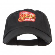 Someone Special and Me Patched Cap - Black