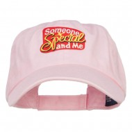 Someone Special and Me Patched Cap - Pink