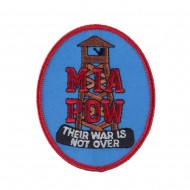 Pow Mia Embroidered Military Patch - Their War