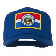Missouri State High Profile Patch Cap - Royal