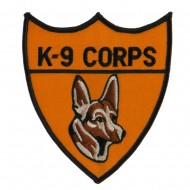 US Military Police Large Patch - K9 Corps