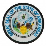 Mid State Seal Embroidered Patch - Arkansas