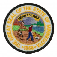 Mid State Seal Embroidered Patch - Minnesota