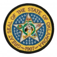 Mid State Seal Embroidered Patch - Oklahoma