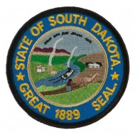 Mid State Seal Embroidered Patch - South Dakota