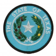 Mid State Seal Embroidered Patch - Texas