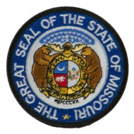 Mid State Seal Embroidered Patch - Missouri