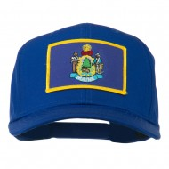 Eastern State Maine Embroidered Patch Cap - Royal