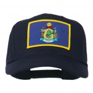 Eastern State Maine Embroidered Patch Cap - Navy