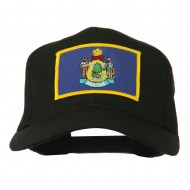 Eastern State Maine Embroidered Patch Cap - Black