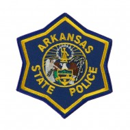 Mid State Police Embroidered Patches - AR State