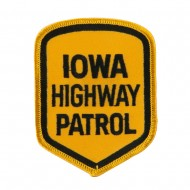 Mid State Police Embroidered Patches - IA Hwy