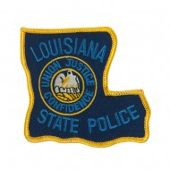 Mid State Police Embroidered Patches - LA State