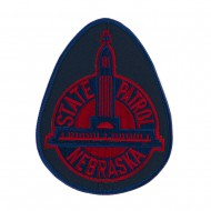 Mid State Police Embroidered Patches - NE State