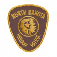 Mid State Police Embroidered Patches - ND Hwy