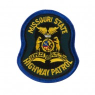 Mid State Police Embroidered Patches - MO Hwy