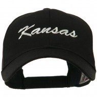 Mid States Embroidered Cap - Kansas