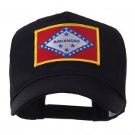 USA Mid State Embroidered Patch Cap - Arkansas