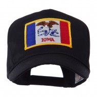 USA Mid State Embroidered Patch Cap - Iowa