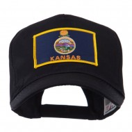 USA Mid State Embroidered Patch Cap - Kansas