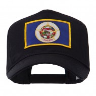 USA Mid State Embroidered Patch Cap - Minnesota