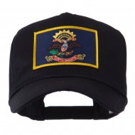 USA Mid State Embroidered Patch Cap - North Dakota