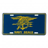 US Military 3D License Plates - Seals