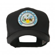 Mid State Seal Embroidered Patch Cap - Arkansas