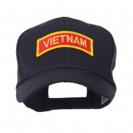 Military Related Text Embroidered Patch Cap - Vietnam