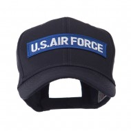 Military Related Text Embroidered Patch Cap - AF