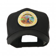 Mid State Seal Embroidered Patch Cap - Minnesota