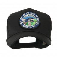 Mid State Seal Embroidered Patch Cap - Nebraska