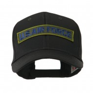 Military Related Text Embroidered Patch Cap - Air Force