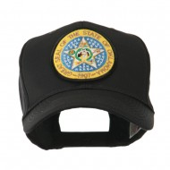 Mid State Seal Embroidered Patch Cap - Oklahoma