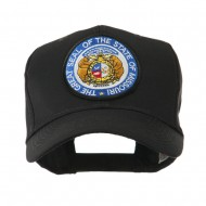 Mid State Seal Embroidered Patch Cap - Missouri