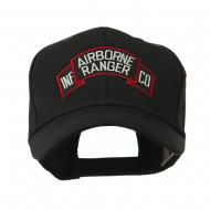 Military Related Text Embroidered Patch Cap - AB Ranger