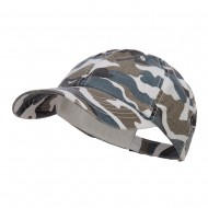 Faded Camo Washed Cotton Cap - Blue Camo