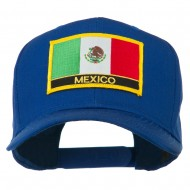Mexico Flag Letter Patched High Profile Cap - Royal