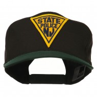 New Jersey State Police Patched Cap - Green Black