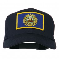New Hampshire State High Profile Patch Cap - Navy