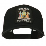 New York State Police Patched Mesh Back Cap - Black