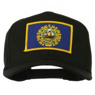 New Hampshire State High Profile Patch Cap - Black