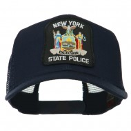 New York State Police Patched Mesh Back Cap - Navy
