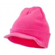 Neon Acrylic Jeep Cap - Pink