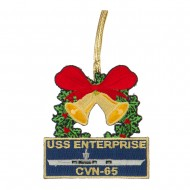US Navy Embroidered Ornament Medallion - Navy