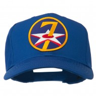 7th Air Force Division Patched Cap - Royal